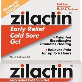 Zilactin Cold Sore Gel Review