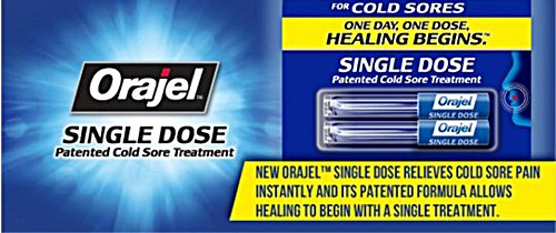 Orajel Single Dose Cold Sore