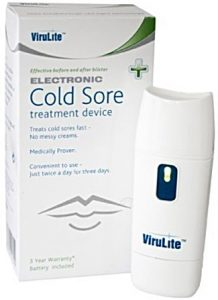 virulite cold sore machine review