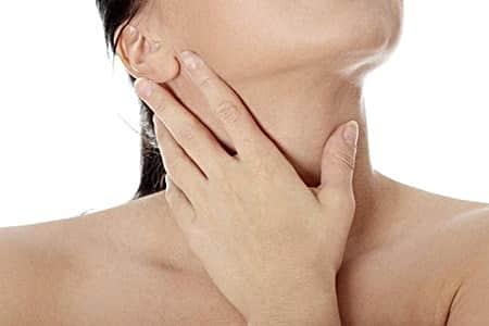 Cold sores causing swollen lymph nodes