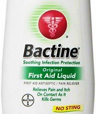 Should I Put Bactine on Cold Sores?