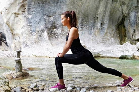 Prevention of cold sores through exercise